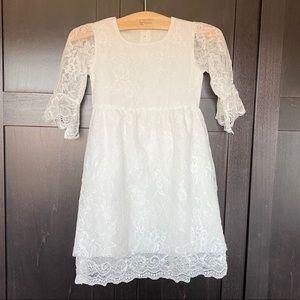 Lace Dress w/ Built In Slip